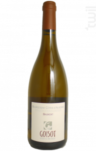 Bourgogne Côtes d'Auxerre Biaumont - Domaine Goisot Jean-Hugues et Guilhem - 2004 - Blanc