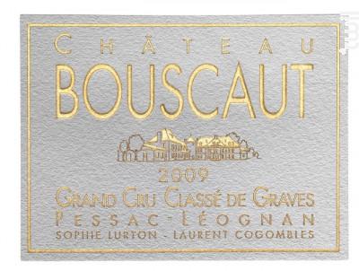 Château Bouscaut - Château Bouscaut - 2009 - Rouge