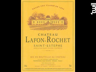 Château Lafon-Rochet - Château Lafon-Rochet - 2011 - Rouge