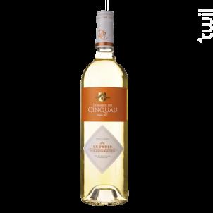Le Fruit - Domaine du Cinquau - 2017 - Blanc
