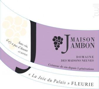 Fleurie - Domaine des Maisons Neuves - Maison Jambon - 2020 - Rouge