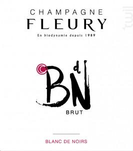 Blanc de Noirs Brut - Champagne Fleury - Non millésimé - Effervescent