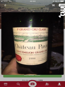 Château Pavie - Château Pavie - 1994 - Rouge