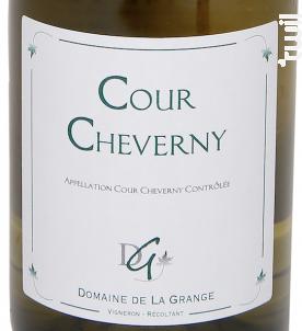 Cour Cheverny Sec - Domaine de La Grange - 2013 - Blanc