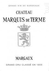 Château Marquis de Terme - Château Marquis de Terme - 2015 - Rouge