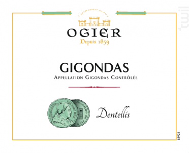 Dentellis - Maison Ogier - 2018 - Rouge