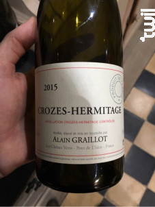 Crozes-Hermitage - Domaine Alain Graillot - 2017 - Blanc