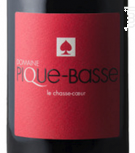 LE CHASSE-COEUR - DOMAINE PIQUE-BASSE - 2017 - Rouge