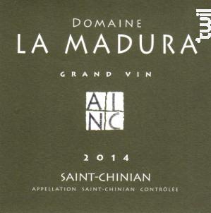 La Madura Grand Vin - Domaine La Madura - 2014 - Rouge