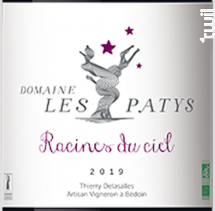 Racines du ciel - Domaine Les Patys - 2019 - Rouge