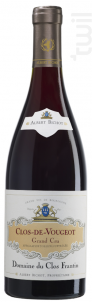 Clos-de-Vougeot Grand Cru - Domaine du Clos Frantin - Domaines Albert Bichot - 2018 - Rouge
