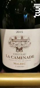 Château La Caminade Malbec - Château La Caminade - 2015 - Rouge