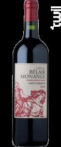 Chateau Belair Monange - Château Bélair-Monange - 2014 - Rouge
