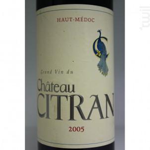 Château Citran - Château Citran - 2005 - Rouge
