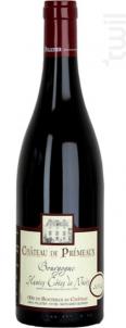 Bourgogne Hautes-Côtes de Nuits - Château de Prémeaux - 2010 - Rouge