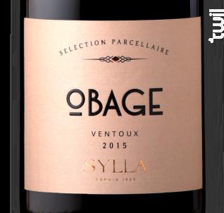 Obage - Les Vins de Sylla - 2017 - Rouge