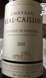 Château Réal-Caillou - Château Grand Baril et Réal Caillou - 2018 - Rouge
