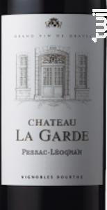 Château La Garde - Vignobles Dourthe - Château La Garde - 2012 - Rouge