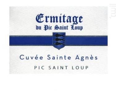 Sainte Agnés - Ermitage du Pic Saint Loup - 2016 - Rouge