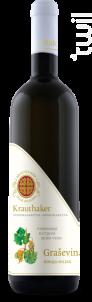 Grasevina Korija - Domaine Krauthaker - 2015 - Blanc