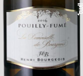 La Demoiselle De Bourgeois - Henri Bourgeois - 2008 - Blanc