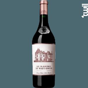 Le Clarence de Haut-Brion - Domaines Clarence Dillon- Château Haut-Brion - 2010 - Rouge