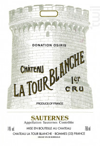 Château La Tour Blanche - Château La Tour Blanche - 2011 - Blanc