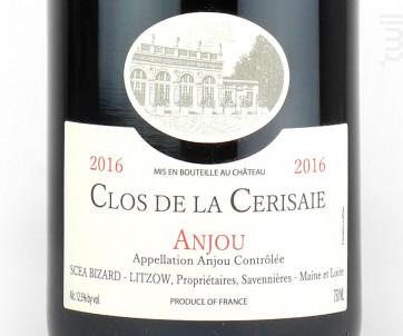 Clos de la Cerisaie - Château d'Epiré - 2017 - Rouge