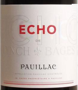Echo de Lynch-Bages - Château Lynch-Bages - 2015 - Rouge