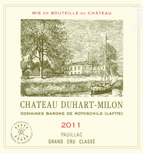 Château Duhart Milon - Domaines Barons de Rothschild - Château Duhart-Milon - 2011 - Rouge
