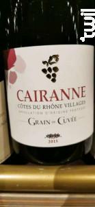 Grain De Cuvée - Cairanne - 2015 - Rouge