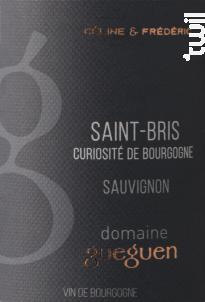 Sauvignon Saint-Bris - Domaine Céline & Frédéric Gueguen - 2020 - Blanc