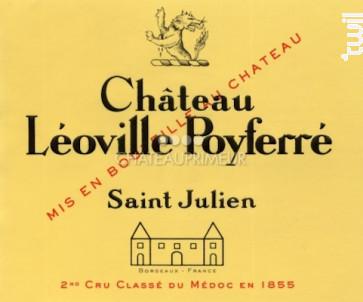Château Léoville Poyferré - Château Léoville Poyferré - 2010 - Rouge