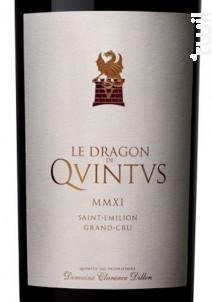 Le Dragon de Quintus - Château Quintus - 2018 - Rouge