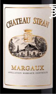 Château Siran - Château Siran - 2018 - Rouge