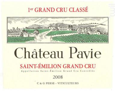 Château Pavie - Château Pavie - 2008 - Rouge