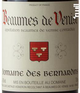 Beaumes de Venise - Domaine Des Bernardins - 2019 - Rouge