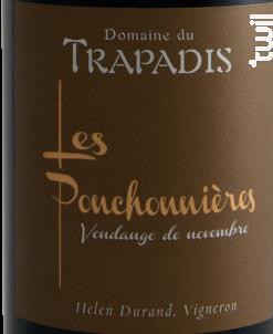 Les Ponchonnières - Domaine du Trapadis - 2011 - Rouge