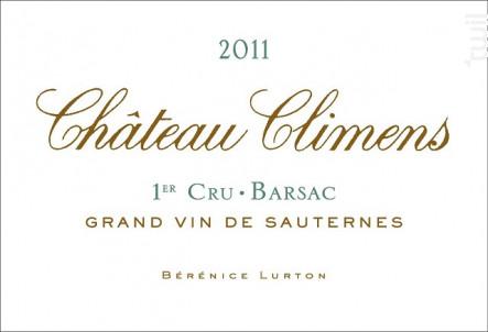 Château Climens - Château Climens - 2011 - Blanc