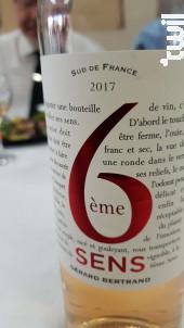 6ÈME SENS - Maison Gérard Bertrand - Tendances - 2018 - Blanc