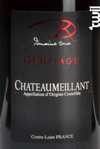 L'Heritage - Domaine Roux - 2018 - Rouge
