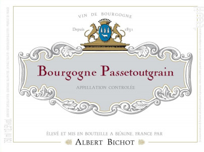 Bourgogne Passetoutgrain - Albert Bichot - 2019 - Rouge