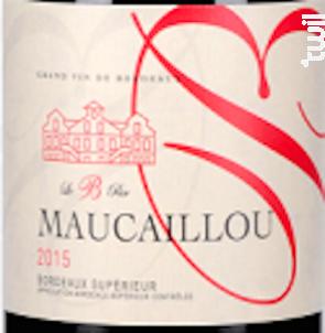 Le B par Maucaillou - Château Maucaillou - 2016 - Rouge