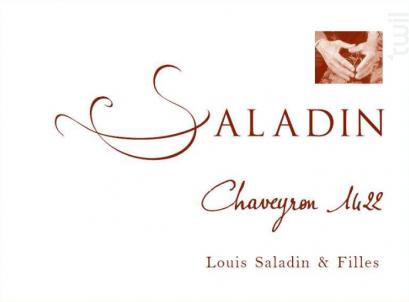 Chaveyron 1422 - Domaine Saladin - 2016 - Rouge