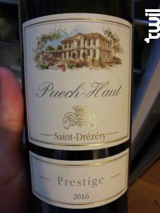 Prestige - Château Puech-Haut - 2017 - Rouge