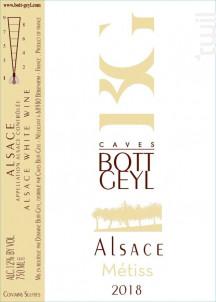 Alsace Métiss - Domaine BOTT GEYL - 2018 - Blanc