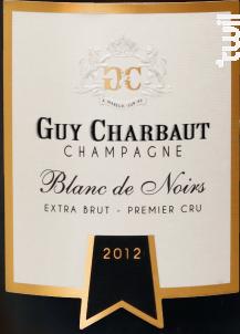 Blanc de Noirs - Extra-Brut Premier Cru - Champagne Guy Charbaut - 2013 - Effervescent