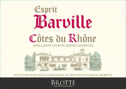 Esprit Barville - Maison Brotte • Les Domaines - 2020 - Rosé