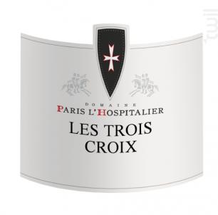 Les trois Croix - Paris l'Hospitalier - 2018 - Blanc