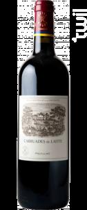 Carruades de Lafite - Domaines Barons de Rothschild - Château Lafite Rothschild - 2005 - Rouge